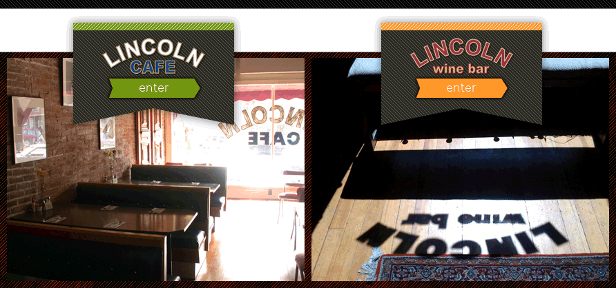 Lincoln Cafe and Lincoln Winebar in Mount Vernon, IA